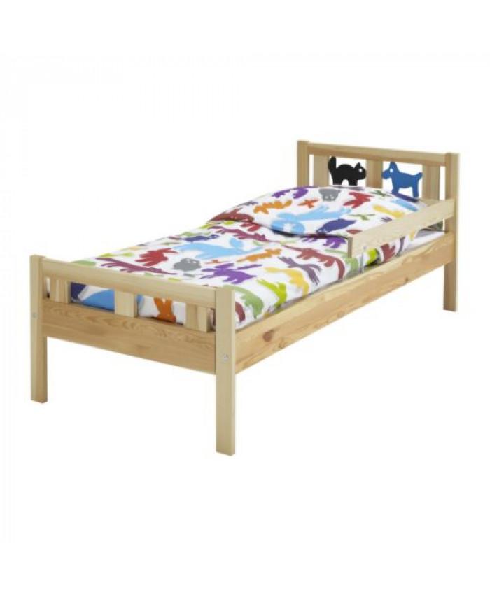 საბავშვო საძინებელი KRITTER ხისფერი 70*160