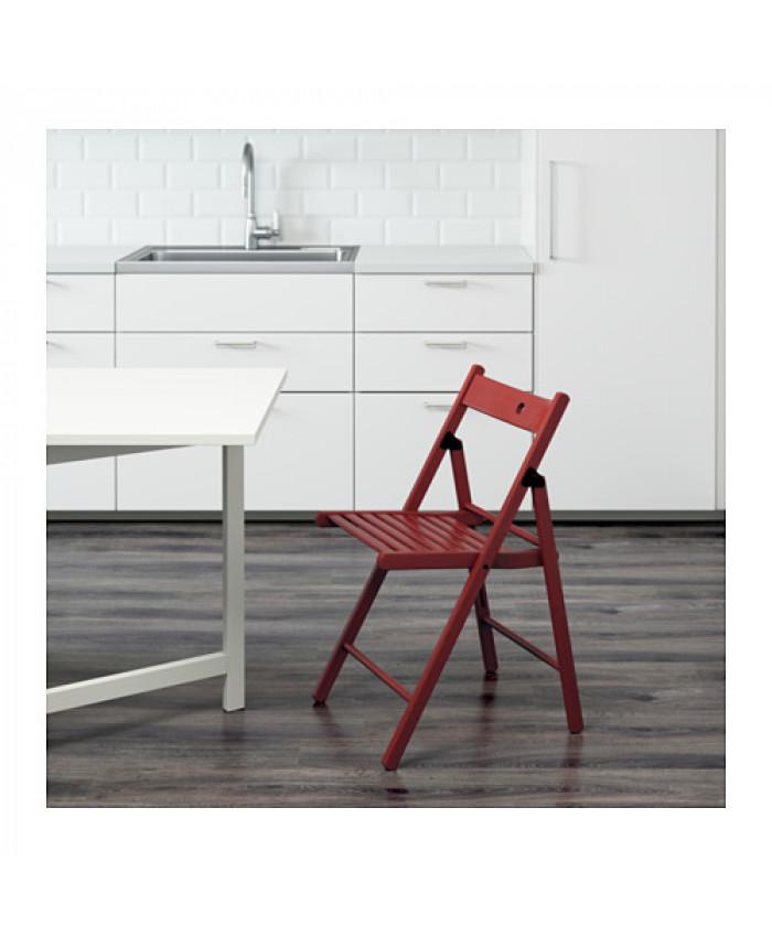 დასაკეცი სკამი TERJE წითელი