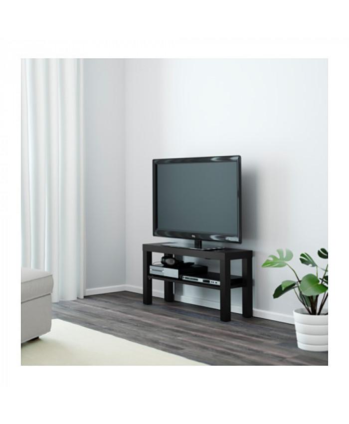 ტელევიზორის მაგიდა LACK შავი