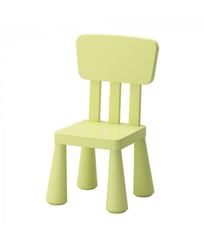 საბავშვო სკამი MAMMUT ღია მწვანე
