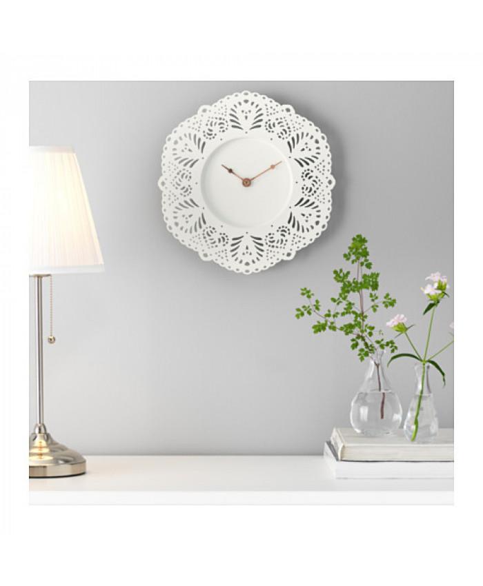 კედლის საათი SKURAR თეთრი
