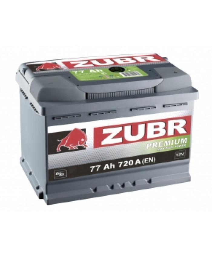 აკუმულატორი ZUBR 63AH