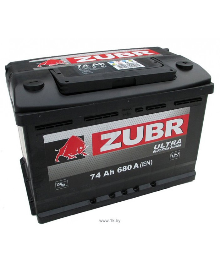 აკუმულატორი ZUBR 74AH