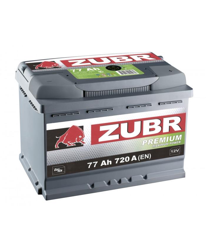 აკუმულატორი ZUBR 77AH
