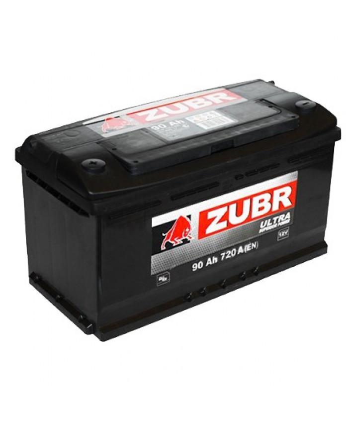 აკუმულატორი ZUBR 90AH
