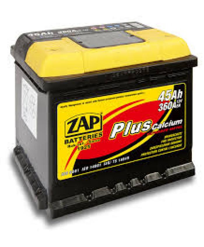 აკუმულატორი ZAP 45AH
