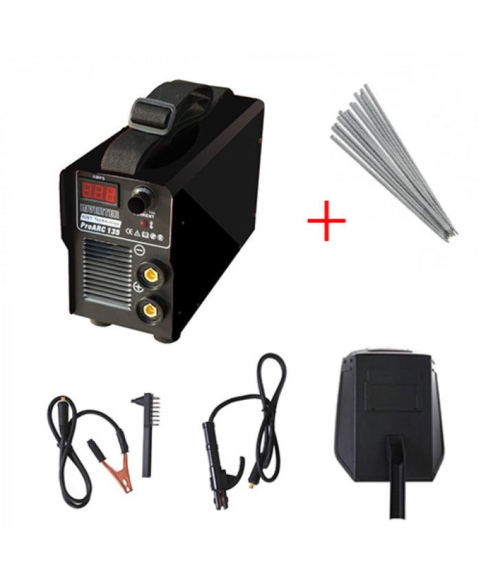 შედუღების აპარატი PRO FOX 250 სრული კომპლექტაციით + ელექტროდები საჩუქრად!