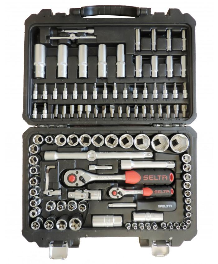 ხელსაწყოების ნაკრები 108ც Selta (ბულგარეთი)