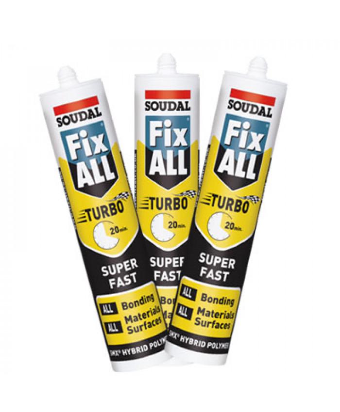 ჰერმეტული წებო პოლიმერული-FixAll Turbo/White
