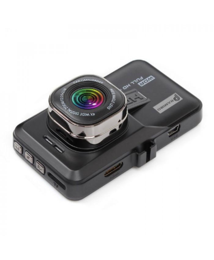 ვიდეო რეგისტრატორი Pramiro t636 Full HD (უკანა ხედვის კამერით)