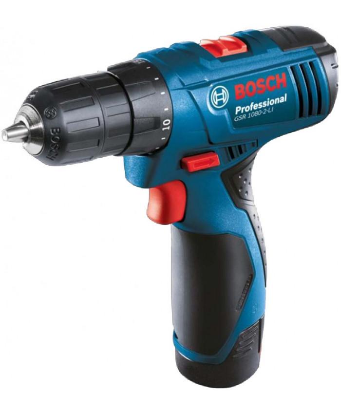 სახრახნისი Bosch GSR 1080-2-LI Professional