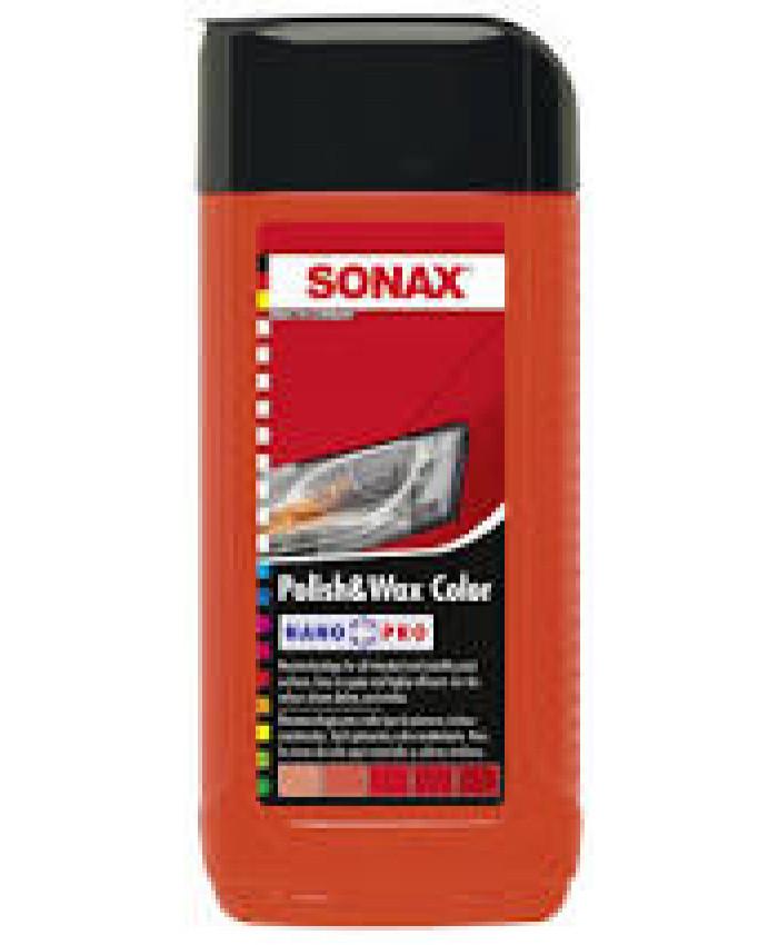 პოლიროლი ცვილი წითელი 250ML SONAX 296441