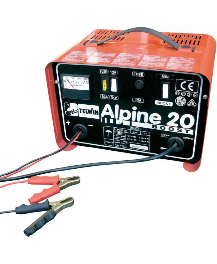 აკუმლატორის ბატარეების დამტენი ALPINE 20