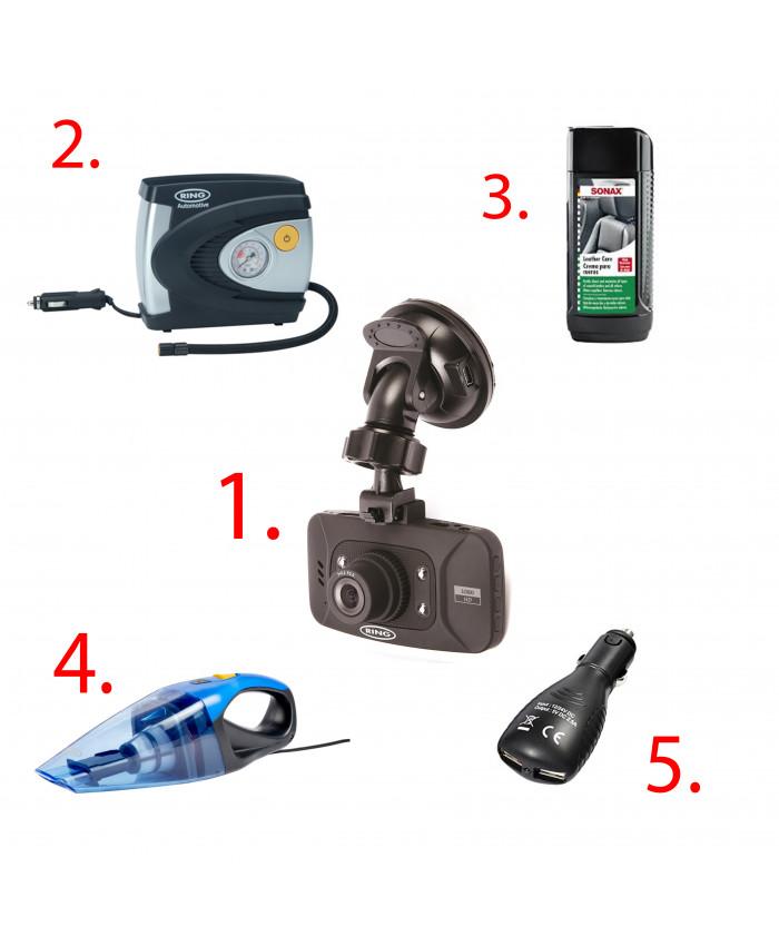 კომპლექტი ავტომობილისთვის Video Camera  RING