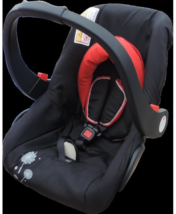საბავშვო სავარძელი ავტომობილისთვის Happy Baby წითელი